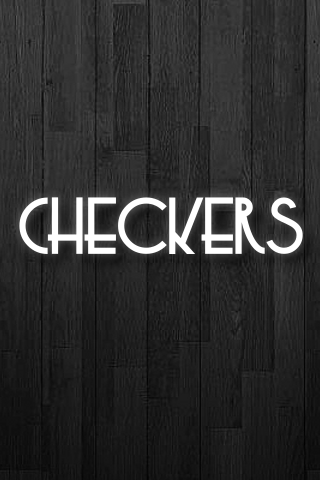 Screenshot Checkers in Black and White