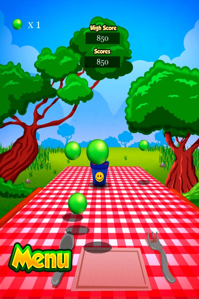Screenshot Cup Ball Shooter